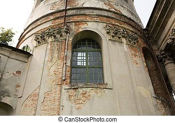 늙은, 조형, 창문, strucco, 정면, lvov, 탑