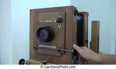 늙은, 카메라.