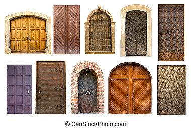 늙은, 포도 수확, 문, 에서, lviv