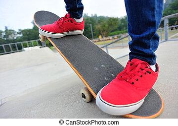 다리, skateboarding