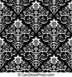 다마스크 천, 패턴