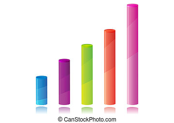 다채로운, 사업, 그래프