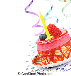 다채로운, 생일 케이크
