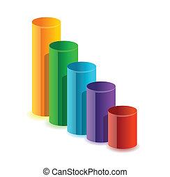다채로운, 안내장, 사업, 그래프
