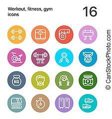 다채로운, 연습, 적당, 체조, 아이콘, 치고는, 웹, 와..., 변하기 쉬운, 디자인, 꾸러미, 1