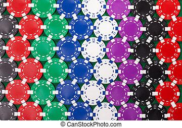 다채로운, 포커 칩