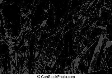 단색화, 떼어내다, 벡터, grunge, texture., 회색, 와..., 검정, illustration., 밑그림, 떼어내다, 창조적인 것을 한다, 고생한다, effect., 오버레이, 고뇌, 곡물, design., 유행, 현대, 배경.