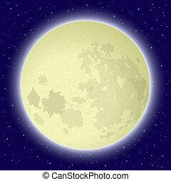 달, 공간