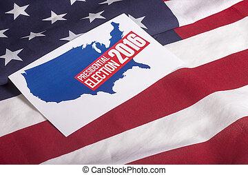 대통령의, 선거, 투표, 와..., 미국 기