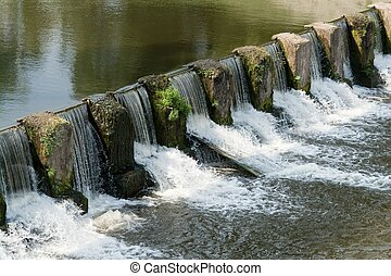 댐, 오버플로어