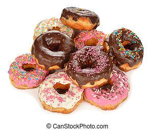 도넛, 착빙