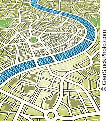 도시 지도