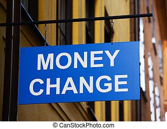 돈, 개념, 교환