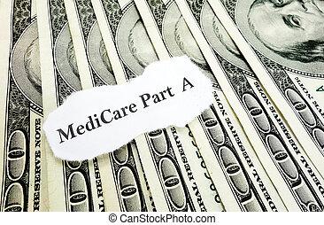 돈, 부분, 의료 보장 제도