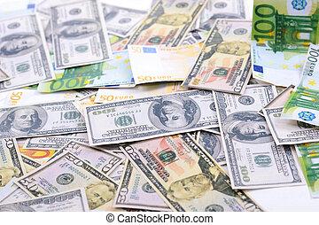 돈, 사업, 배경