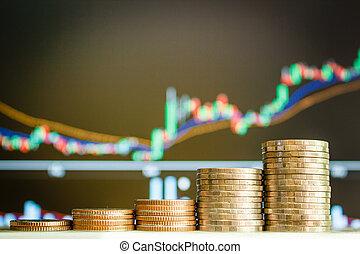 돈, 은 화폐로 주조한다, 주식, market.