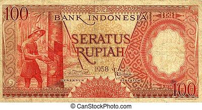 돈, 인도네시아