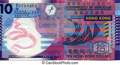 돈, 홍콩