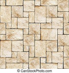돌이 많다, 벽, seamless, 배경.