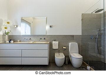 동기생, 목욕, 샤워실, 유행, decor.