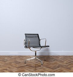 동둥, 사무실, 안락 의자, 유행, 새로운