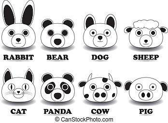 동물 얼굴