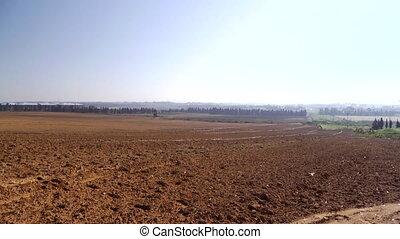 들판, 농업