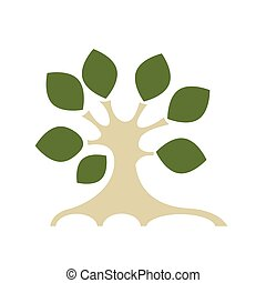 디자인, 예술, 나무, 너의