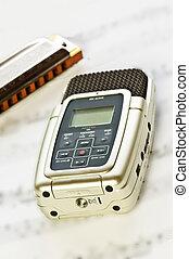 디지털 음악, 녹음기