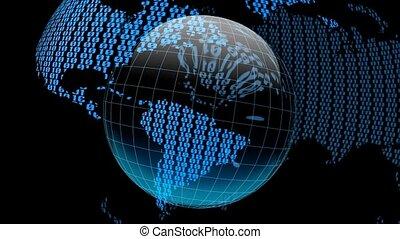 디지털, 지구