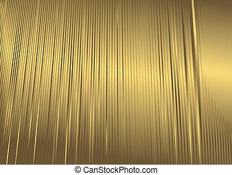 떼어내다, 금색의 배경, (vector)