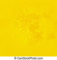 떼어내다, 노란 배경
