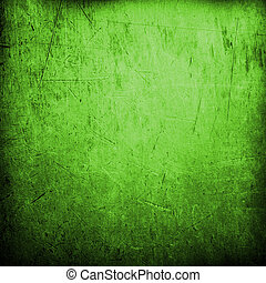 떼어내다, 녹색의 배경