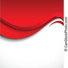 떼어내다, 빨강 배경