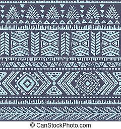 떼어내다, 종족의, 패턴