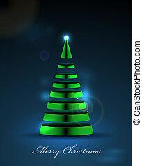 떼어내다, 크리스마스 나무