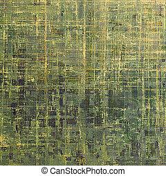 떼어내다, retro, 디자인, composition., 유행, grunge, 배경, 또는, 직물, 와, 다른, 색, patterns:, 황색, (beige);, brown;, green;, 회색