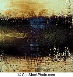 떼어내다, retro, 디자인, composition., 유행, grunge, 배경, 또는, 직물, 와, 다른, 색, patterns:, 황색, (beige);, brown;, blue;, black;, 회색