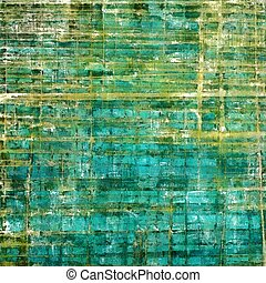떼어내다, retro, 디자인, composition., 유행, grunge, 배경, 또는, 직물, 와, 다른, 색, patterns:, 황색, (beige);, brown;, green;, blue;, cyan