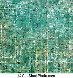 떼어내다, retro, 디자인, composition., 유행, grunge, 배경, 또는, 직물, 와, 다른, 색, patterns:, 황색, (beige);, gray;, green;, blue;, white;, cyan