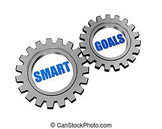 똑똑한, 목표, 에서, 은, 회색, 은 설치한다