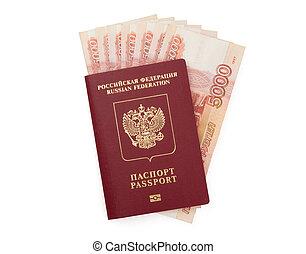 러시아어, 돈, 여권