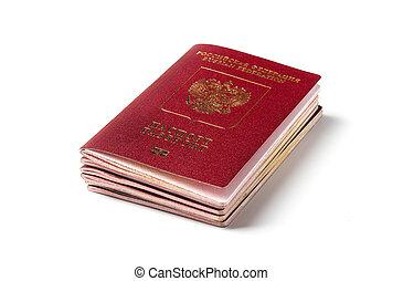 러시아어, 여권