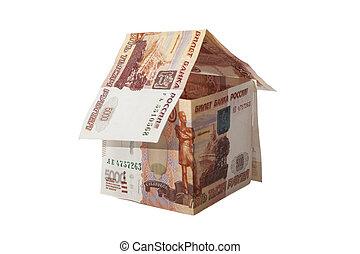러시아어, 집, rubles, 5000, bankno
