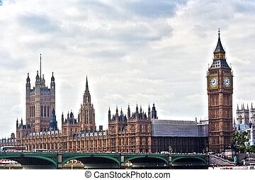 런던, 경계표