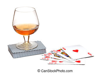 로이얼 플래쉬, 에서, 그만큼, 포커, 카드