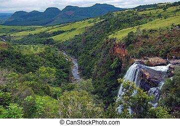 리스본, 폭포, 남아프리카
