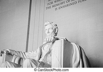 링컨 기념탑, 에서, 워싱톤 피해 통제