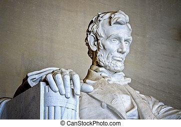 링컨 기념탑, 워싱톤 피해 통제