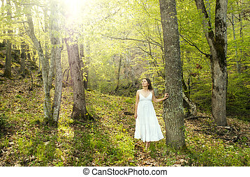 마술적인, 숲